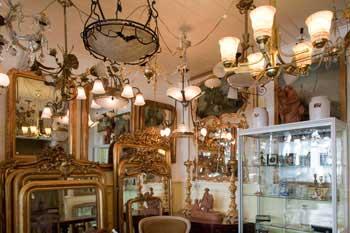 Klassieke lampenwinkel