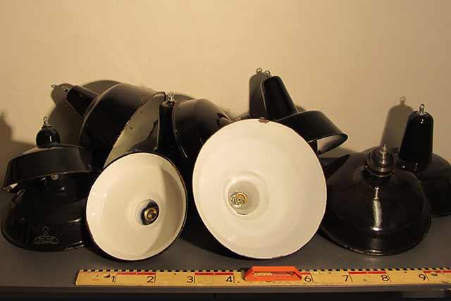 Marinus Licht Emaille Industriele Lampenkappen Diverse Maten