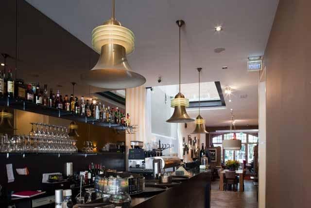 Marinus licht kopie hanglampen art deco stijl van ± café