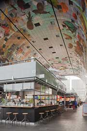 Restaurant Pickles in Markthal, Rotterdam